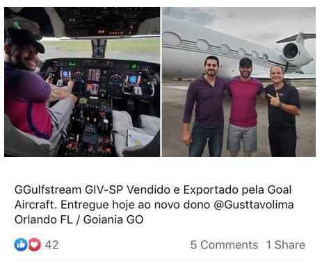 Gusttavo Lima compra jatinho e valor impressiona; confira fotos