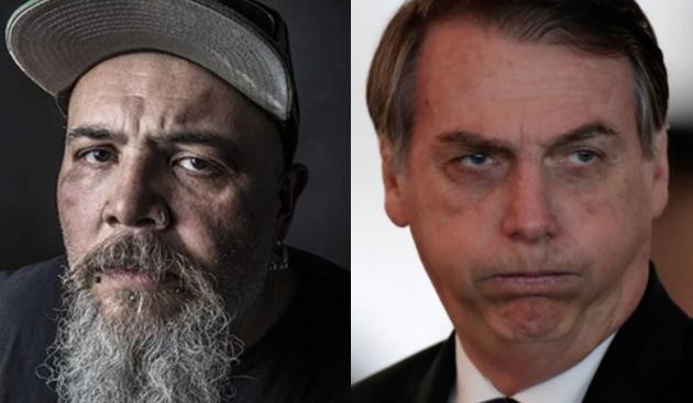 João Gordo e Jair Bolsonaro