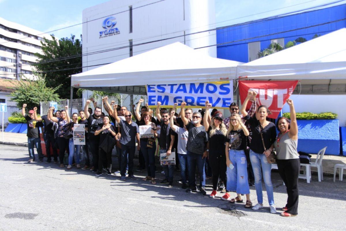 Afiliada do SBT em Alagoas usa estagiários para burlar greve de jornalistas