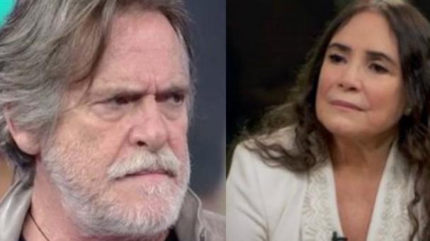 José de Abreu e Regina Duarte