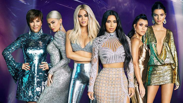 Kardashians seguem como grande sucesso no Canal E! com bizarrices e muito champanhe