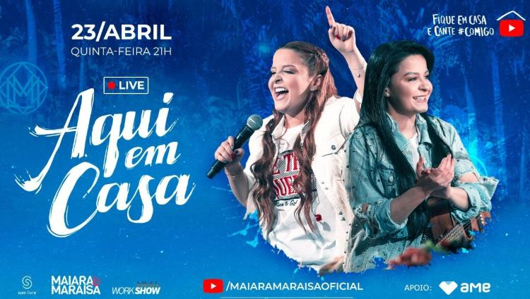Live da dupla Maiara e Maraisa