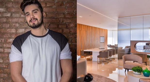 Luan Santana e novo apartamento