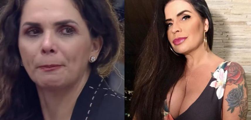 Luiza Ambiel e Solange Gomes