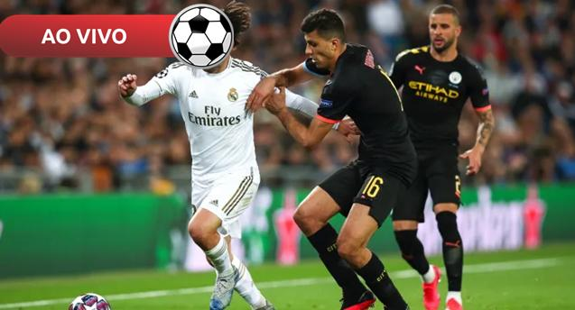 Manchester City x Real Madrid