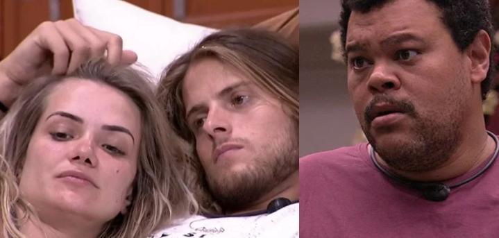 Marcela, Daniel e Babu