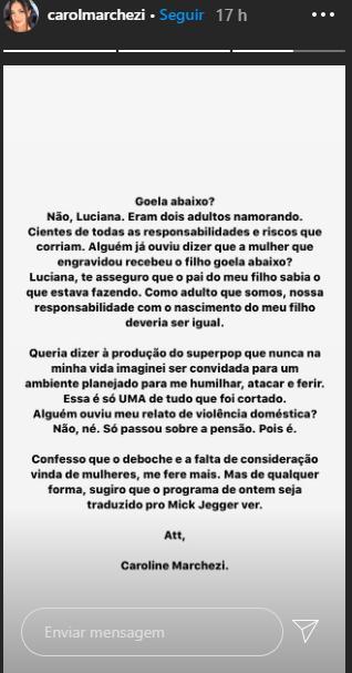 """Luciana Gimenez se defende das acusações de ex de Felipe Araújo: \""""Não sou machista\"""""""