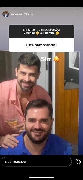 Marcelo Cosme por trás das câmeras: De gato da GloboNews a namorado cardiologista