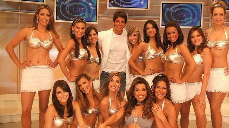 Ha 15 anos, Márcio Garcia enlouqueceu a Globo e fez sucesso na Record com irmã de Faustão