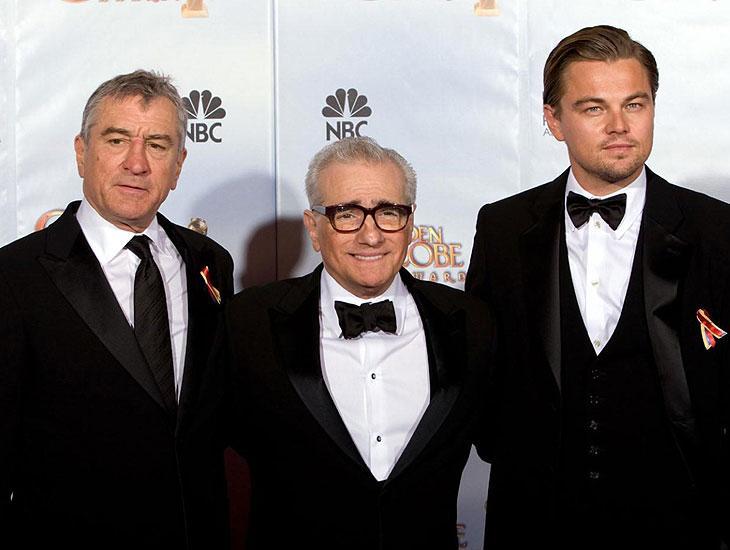 Martin Scorsese pode juntar Robert De Niro e Leonardo DiCaprio em seu próximo filme