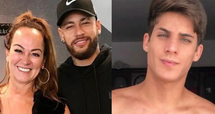 Nadine Gonçalves Neymar e Tiago Ramos
