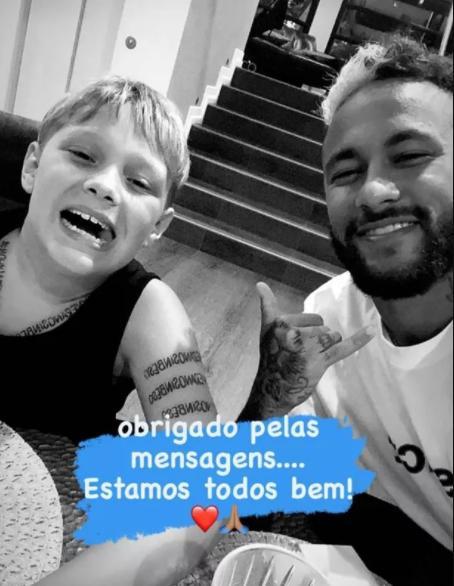 "Neymar se pronuncia após testar positivo para Covid-19: \""Estamos bem\"""