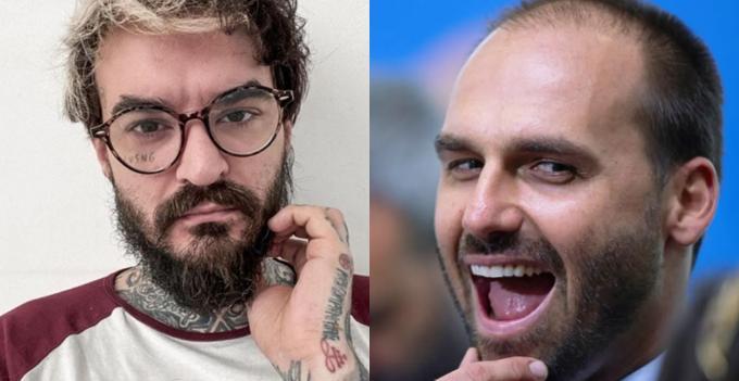 PC Siqueira e Eduardo Bolsonaro