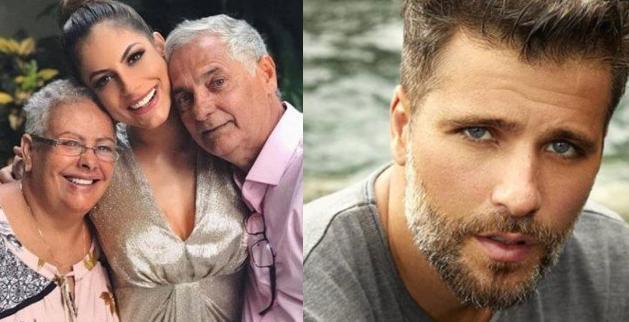 Pais da Mari e Bruno Gagliasso