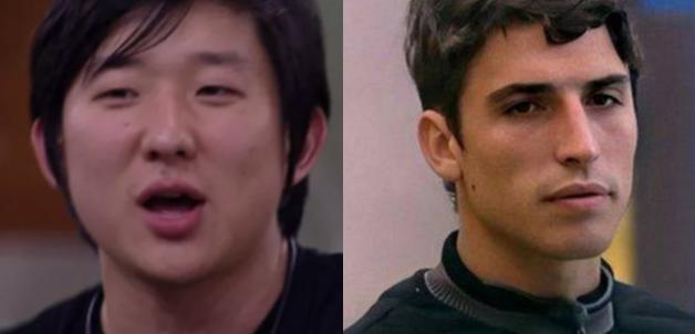 Pyong e Felipe Prior