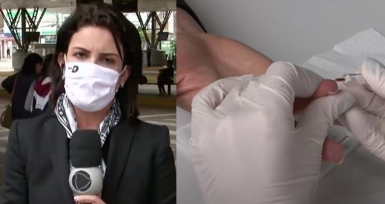 Repórter Kelly Borges