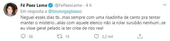 """Bruno Gagliasso relembra polêmica do surubão de Noronha: \""""Não me cancelem\"""""""