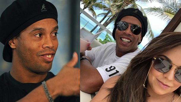 Ronaldinho Gaúcho e Priscila