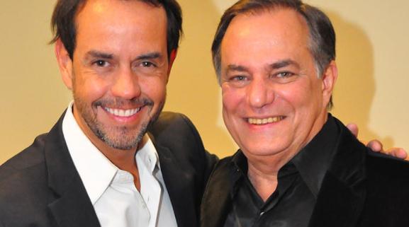 Ronaldo Nogueira e Ronnie Von