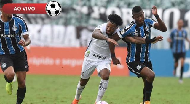 Santos x Grêmio