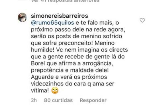 """Nego do Borel rebate acusação dos sogros e fala em processo: \""""Isso cansa\"""""""