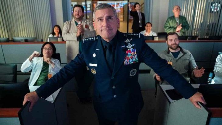 Cena de Space Force, nova série da Netflix