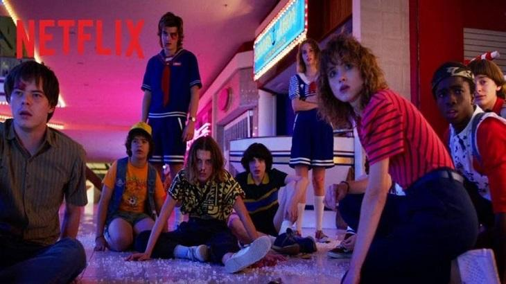 Cena de Stranger Things, da Netflix
