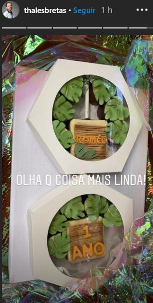 """Paulo Gustavo e marido celebram primeiro aniversário do filho: \""""Nasceu já na luta\"""""""