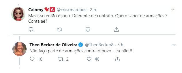 """Theo Becker detona Marcos Mion e acusa \""""A Fazenda\"""" de manipulação: \""""Farsa\"""""""