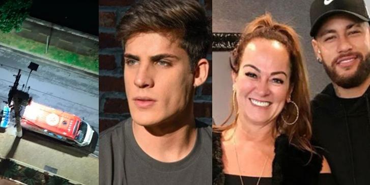 Tiago Ramos, Nadine Gonçalves e Neymar
