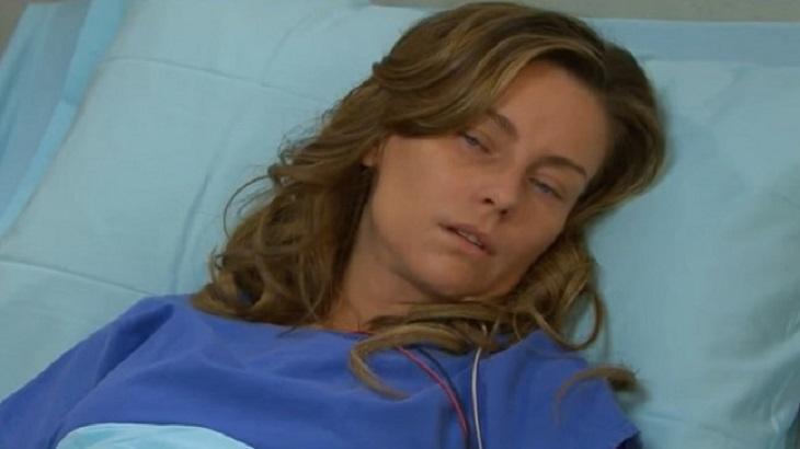 Cena de Triunfo do Amor com Helena no hospital