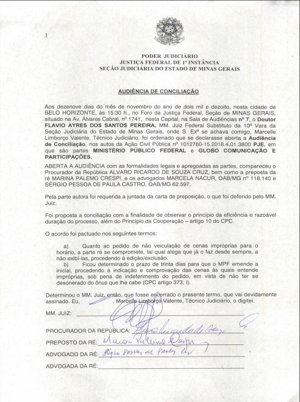 MPF pede condenação de quase R$ 15 milhões à Globo