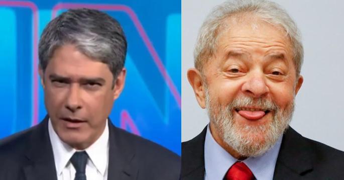 William Bonner e Lula