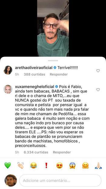 "Irritado, Fábio Porchat solta o verbo contra Bolsonaro: \""Maléfico\"""