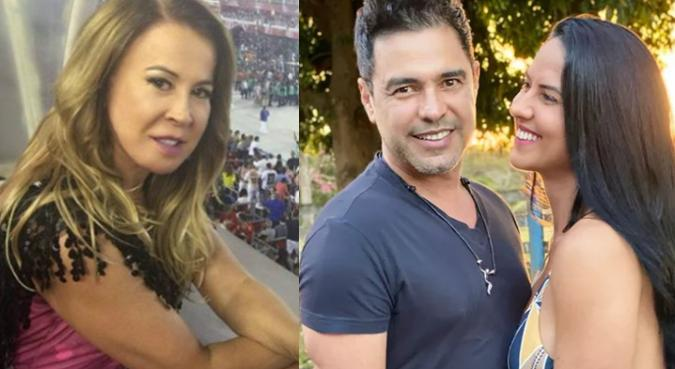 Zilu, Zezé di Camargo e Graciele Lacerda