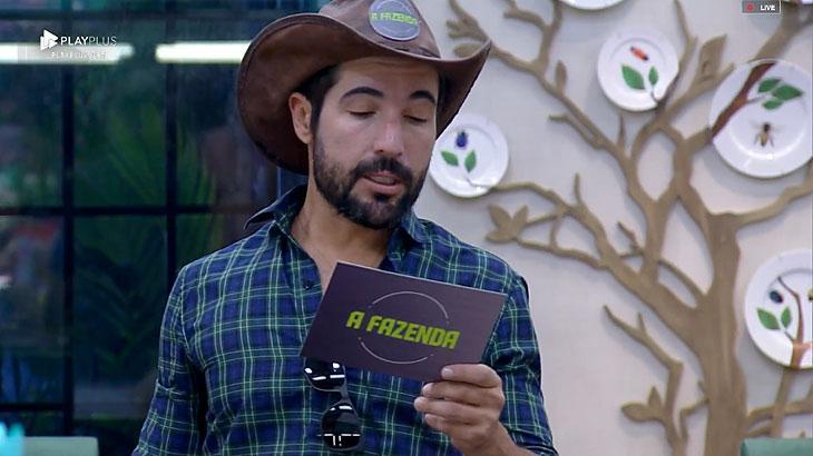 Pedro Cardoso anuncia punição