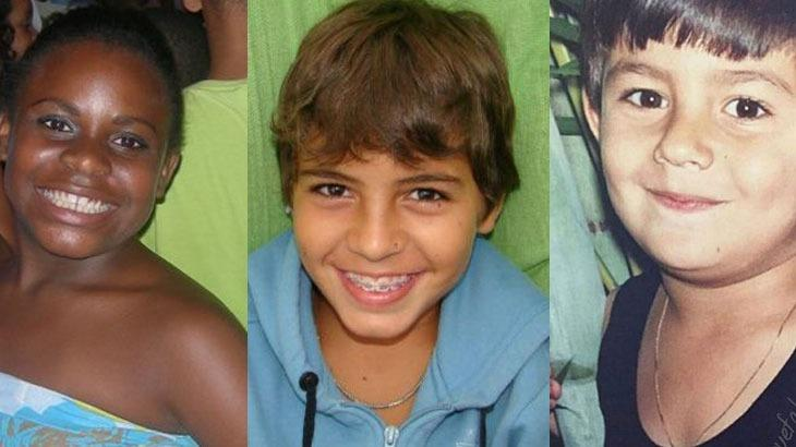 Jojo Todynho, Biel e Mariano em fotos quando crianças