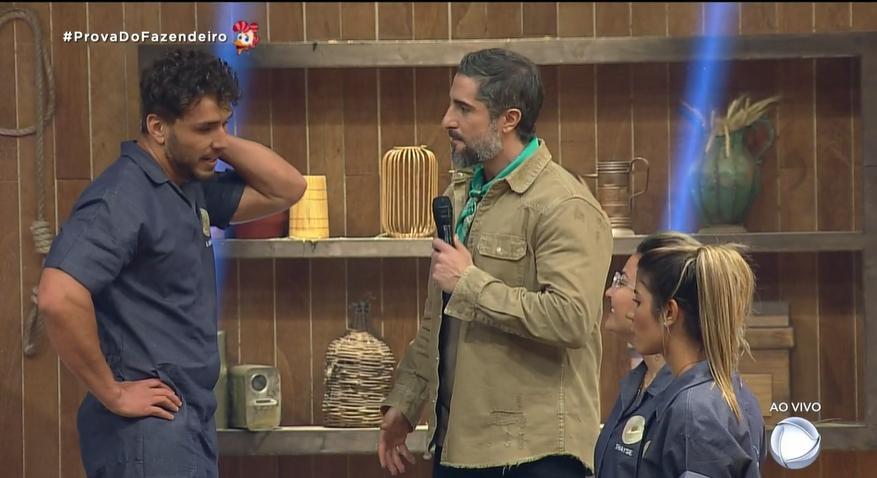 Peões disputaram pela permanência no reality A Fazenda 2019