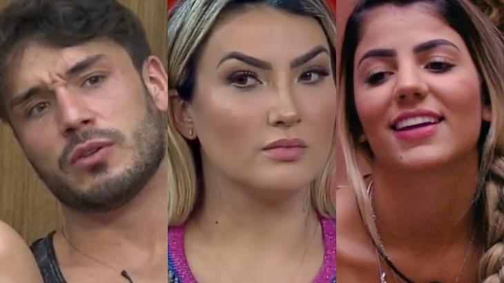 Lucas Viana, Thayse Teixeira e Hariany Almeida