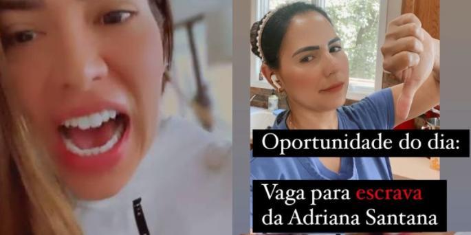 Adriana Sant'Anna e Vivi Araújo