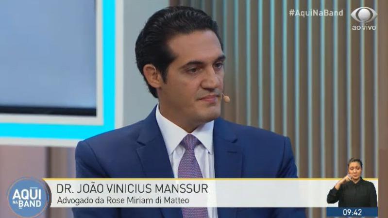 João Vinícius Manssur no Aqui na Band