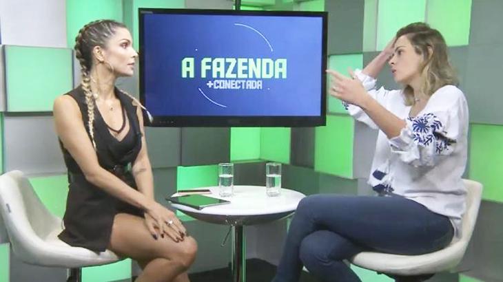 Em bate-papo com Flávia Viana, Ana Paula chora ao pedir menos ódio