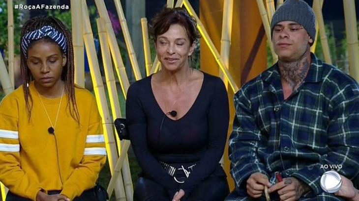 Luane Dias, Vida Vlatt e Leo Stronda na Roça