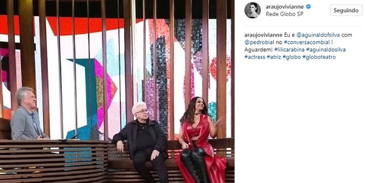 Aguinaldo Silva ressuscitará Nazaré Tedesco em nova novela