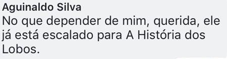 """Aguinaldo Silva defende volta de José Mayer às novelas: \""""já está escalado\"""""""
