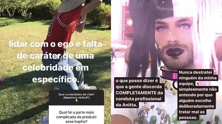 Anitta destratou equipe de Modo Turbo, diz diretor; cantora reage