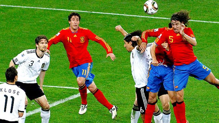 Alemanha e Espanha na Copa do Mundo