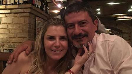 Tom Veiga e Alessandra