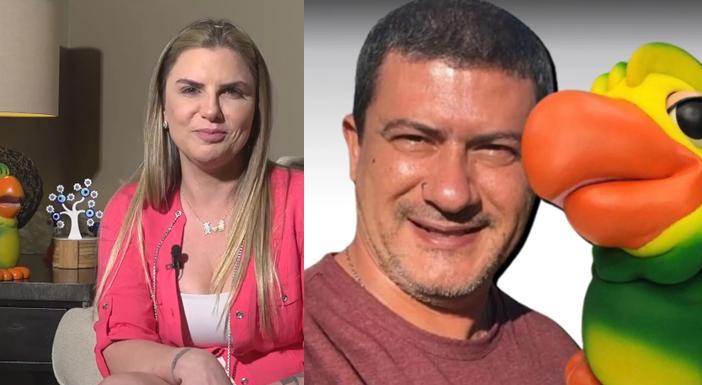 Alessandra Vieira e Tom Veiga