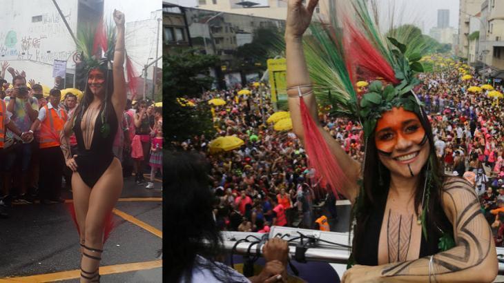 Sem folia em SP, Alessandra Negrini passará Carnaval de outra forma